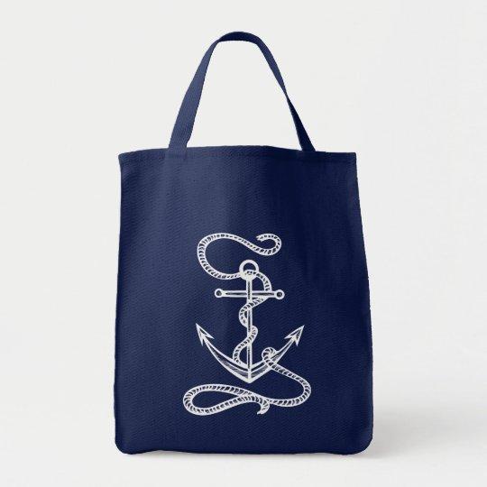 Nautical Ship Anchor Blue Watercolor Wedding