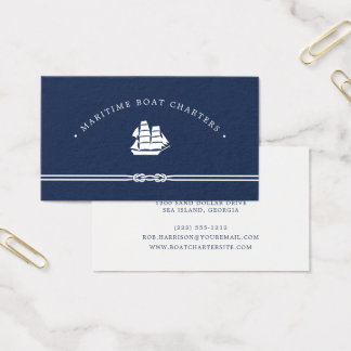 Charter boat business cards business card printing for Boat business cards