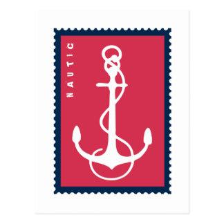 Nautical Ship s Anchor - Ship Boat Sailor Postcard