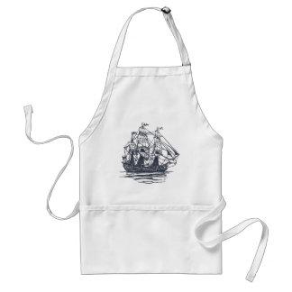 Nautical Ship Standard Apron