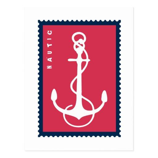 Nautical Ship's Anchor - Ship Boat Sailor Postcard