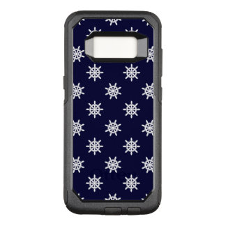 Nautical ship's wheel pattern OtterBox commuter samsung galaxy s8 case