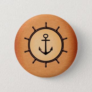 Nautical Standard, 2¼ Inch Round Button