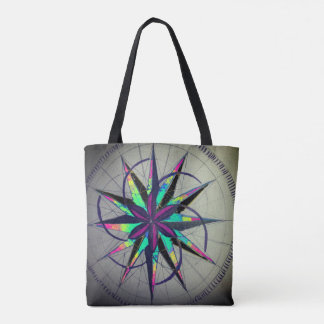 Nautical Star Grunge Bag
