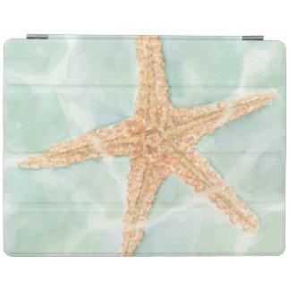 Nautical Starfish in Water iPad Cover