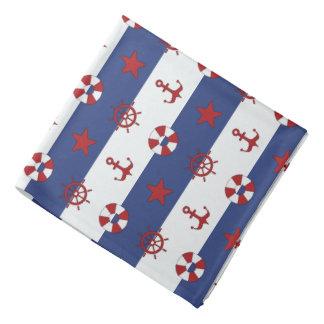 Nautical Stars And Stripes Pattern Do-rag