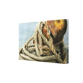 Nautical Still Life Canvas Print