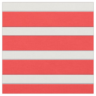 Nautical Stripe in Red, Red Stripy Fabric