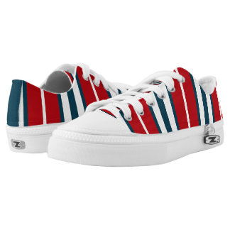 Nautical stripes Low-Top sneakers