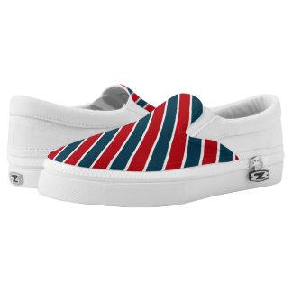Nautical stripes Slip-On sneakers