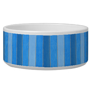 Nautical style blue painted wood