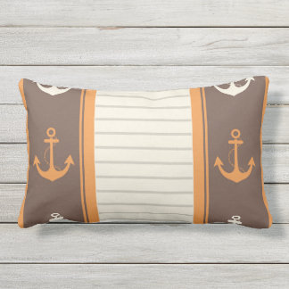 Nautical Stylish Design Outdoor Pillow