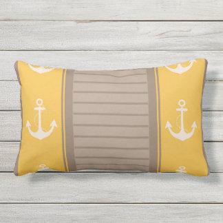 Nautical Stylish Design Throw Pillow