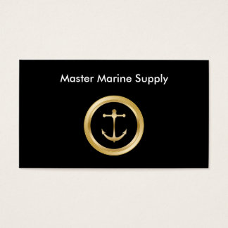 Nautical Supply Service Business Card