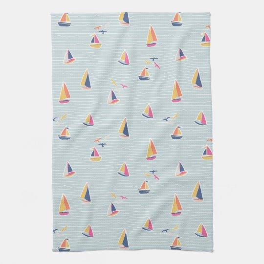 Nautical Tea Towel