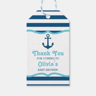 Nautical Thank You Tag, Anchor Gift Tags
