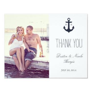 Nautical Thank You | Wedding Card