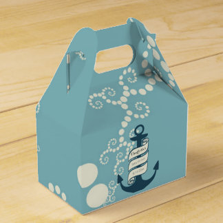 Nautical Theme Party Favor Boxes