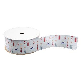 Nautical Theme Ribbon Grosgrain Ribbon