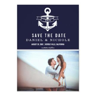 Nautical Theme Save The Date | Weddings Card
