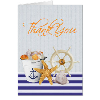 Nautical Theme | Thank You Card