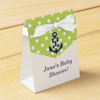 Nautical Themed Boy Baby Shower Favor Box! Party Favor Boxes