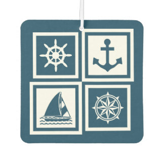 Nautical themed design air freshener