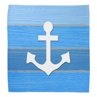 Nautical themed design bandana