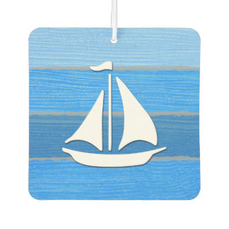 Nautical themed design car air freshener