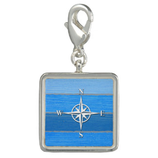 Nautical themed design charm
