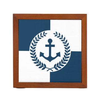 Nautical themed design desk organizer