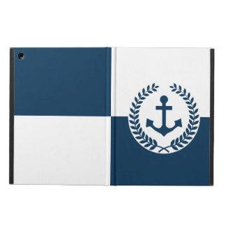 Nautical themed design iPad air case