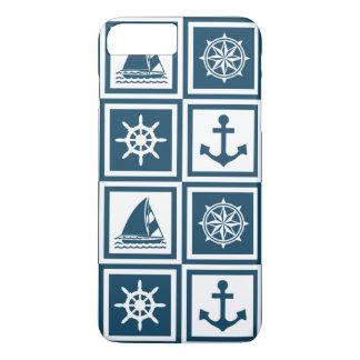Nautical themed design iPhone 7 plus case