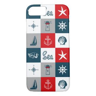 Nautical themed design iPhone 8/7 case