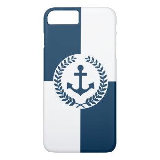 Nautical themed design iPhone 8 plus/7 plus case