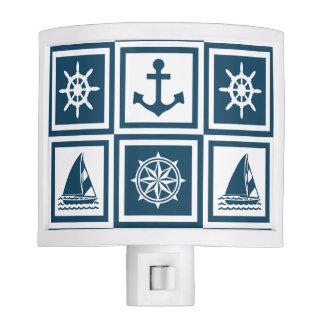 Nautical themed design nite lights