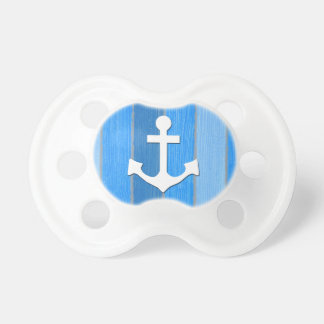 Nautical themed design pacifier