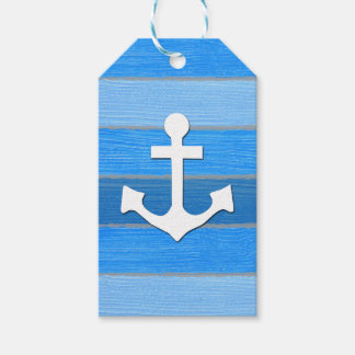 Nautical themed design pack of gift tags