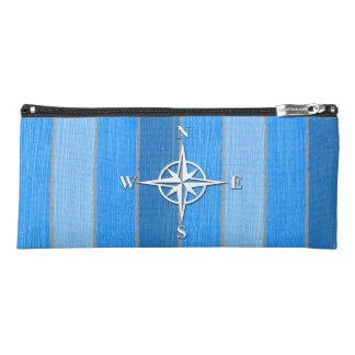 Nautical themed design pencil case