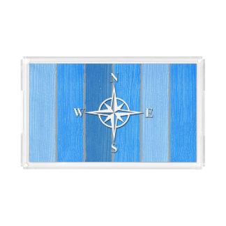 Nautical themed design perfume tray