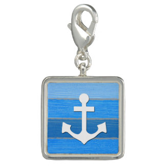 Nautical themed design photo charm