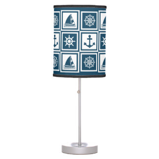 Nautical themed design table lamp