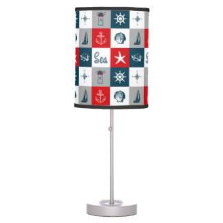 Nautical themed design table lamp