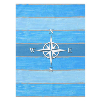 Nautical themed design tablecloth