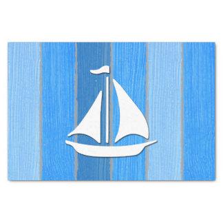 Nautical themed design tissue paper