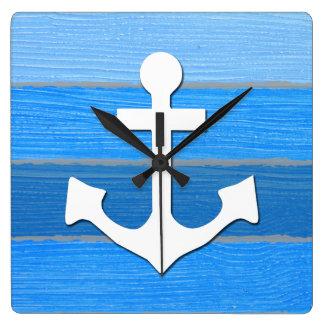Nautical themed design wallclock