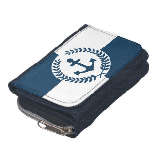 Nautical themed design wallet