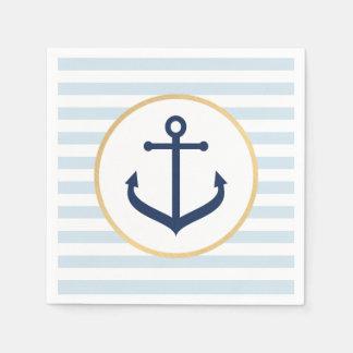 Nautical Themed Napkins Paper Napkins