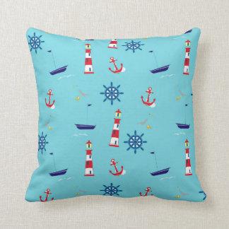 Nautical Throw Cushion