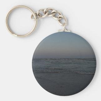 Nautical Twilight Basic Round Button Keychain